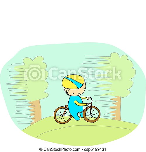 fietser - csp5199431