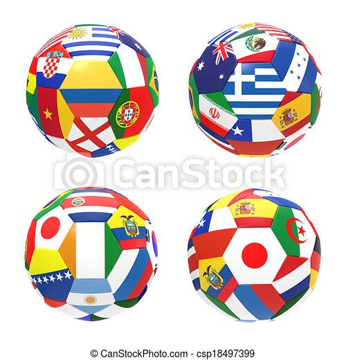 fifa, c-hang, csoport, render, csésze, labdarúgás, verseny, 4, háttér, 2014, világ, fehér, futball, előad, 3 - csp18497399