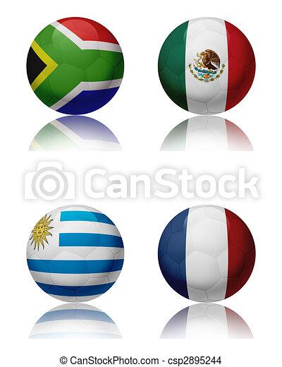 fifa, csoport, csésze, -, világ, 2010 - csp2895244