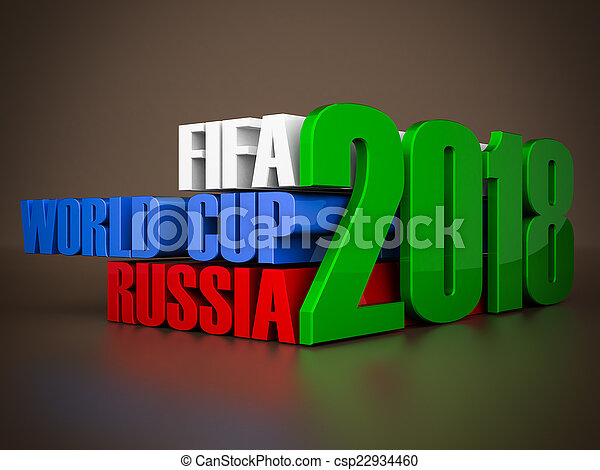 fifa world cup 2018 in Russia - csp22934460