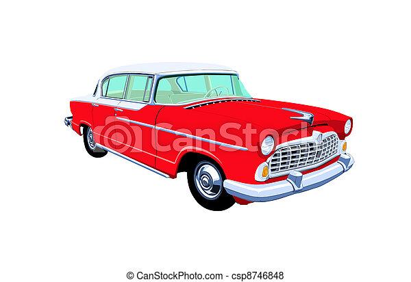 Fifties Sedan - csp8746848