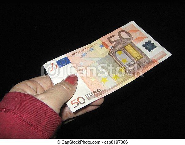 fifty euros - csp0197066