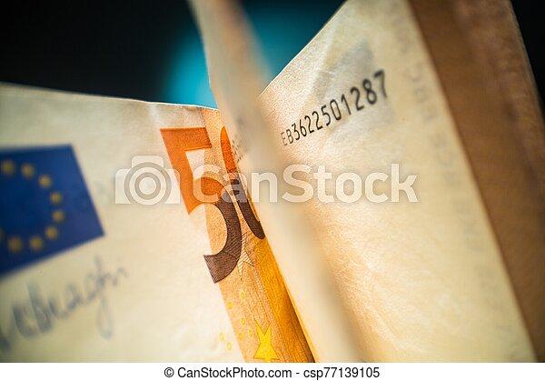 Fifty Euros - csp77139105