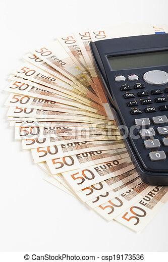 Fifty Euros - csp19173536