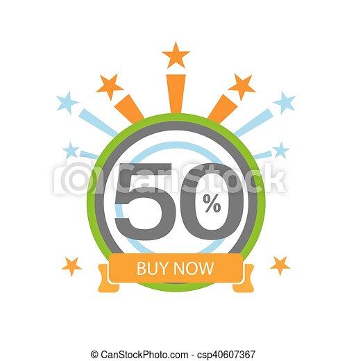 Fifty Symbol Years Anniversary Logo Discount Ten Symbol Years