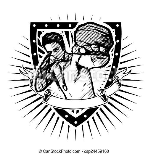 fighter shield - csp24459160