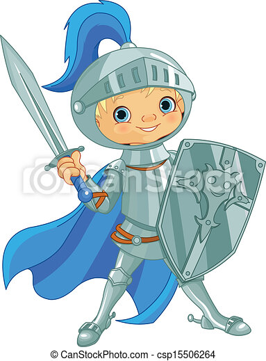 Fighting Brave Knight - csp15506264