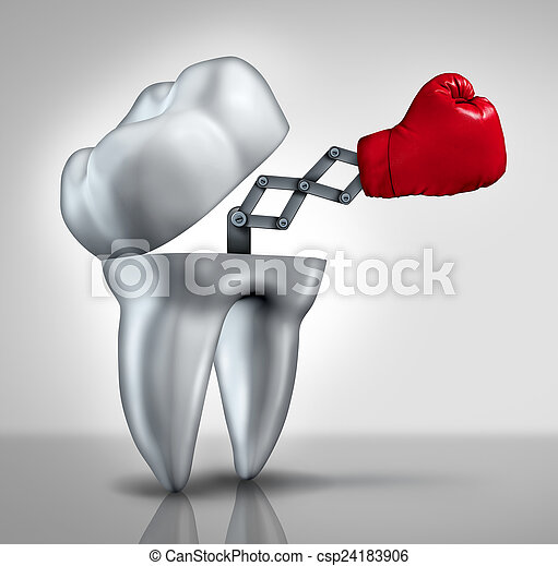 Fighting Cavities - csp24183906