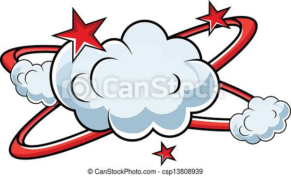 Fighting Comic Explosion Vector - csp13808939