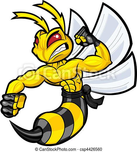 Fighting Hornet - csp4426560