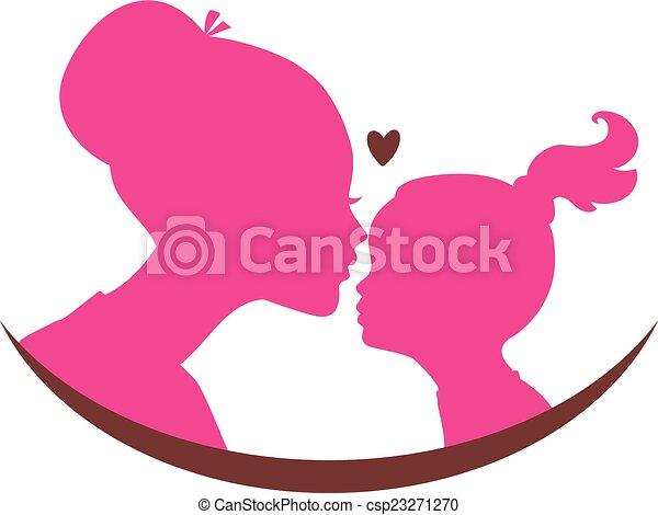 figlia, amore, mamma - csp23271270