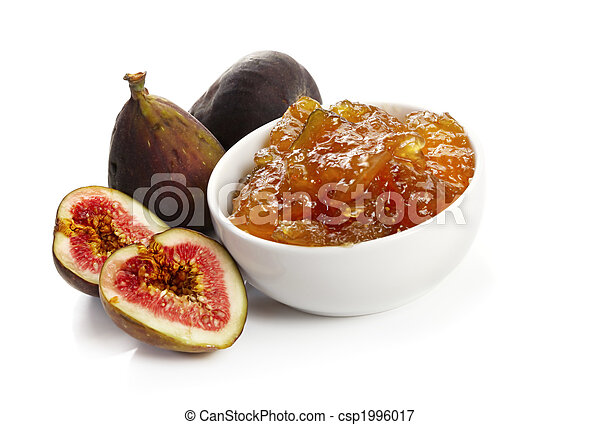 Figs and Fig Jam - csp1996017