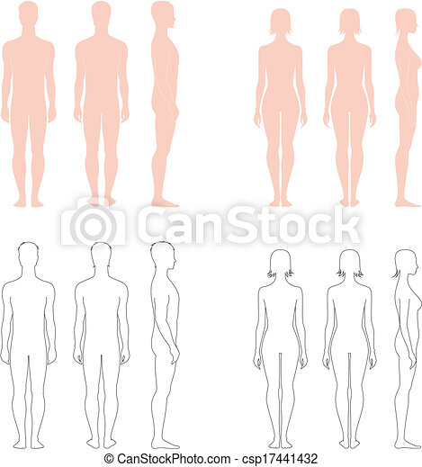 figura humana - csp17441432