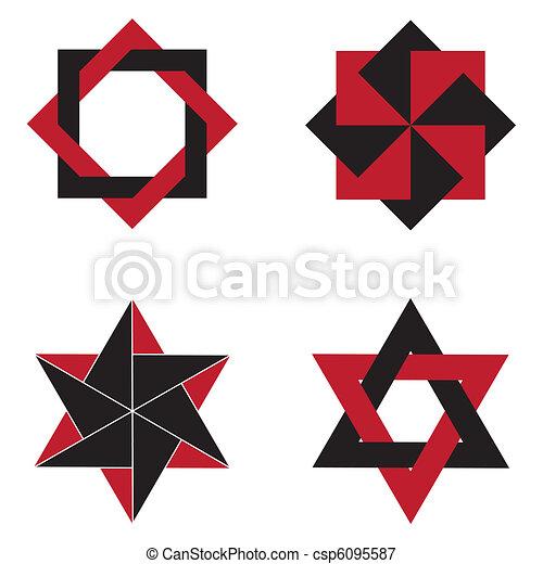 Figuras Geométrico Triángulo Figuras Cuadrado Basado Geométrico