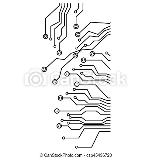Figure Electrical Circuits Icon Vector Illustraction Design