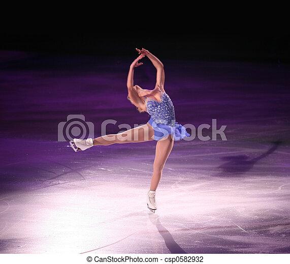 Figure skater - csp0582932