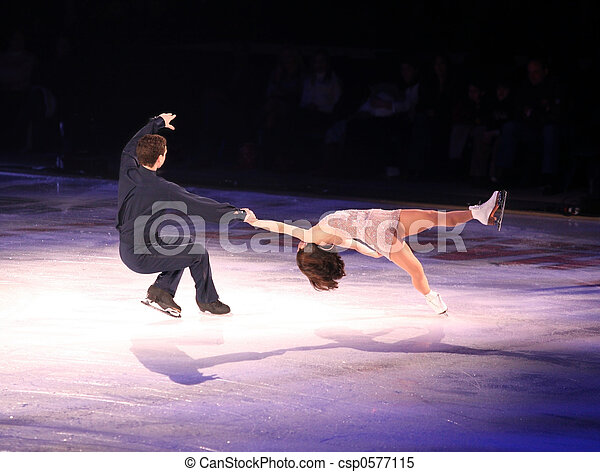 Figure skaters - csp0577115