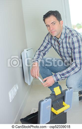 Enchufe eléctrico - csp52339018