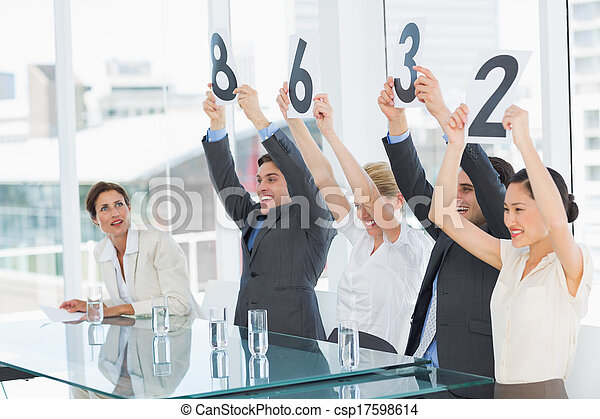 fila, jueces, raya, tenencia, señales - csp17598614