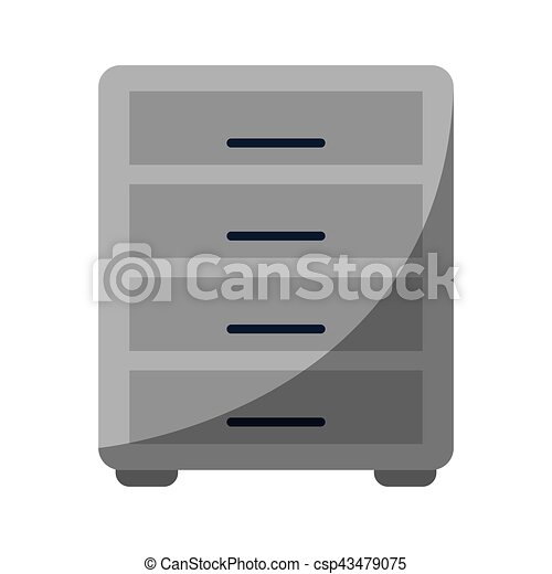 file cabinet archive workplace - csp43479075