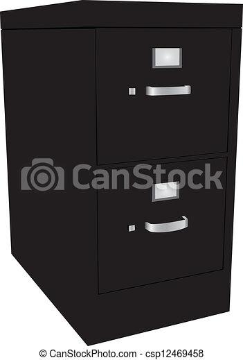 File Cabinet - csp12469458