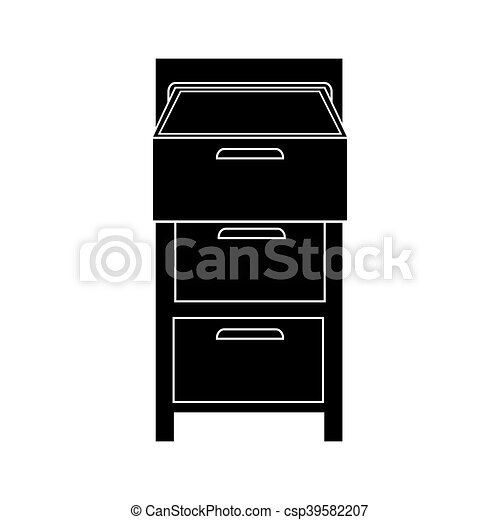 file cabinet office - csp39582207