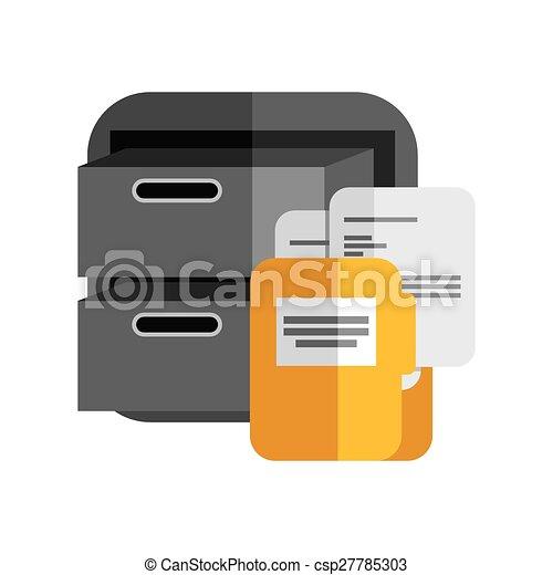 file cabinet - csp27785303