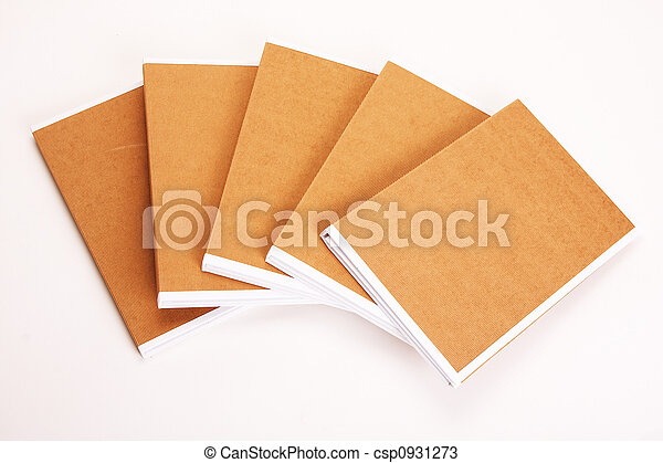 File Folders Stuffed with Paperwork - csp0931273