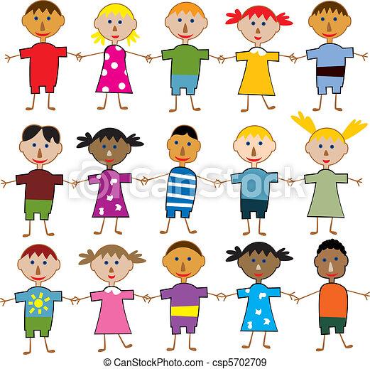 filhos jovens - csp5702709