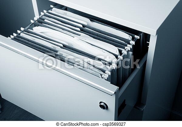Filing Cabinet - csp3569327