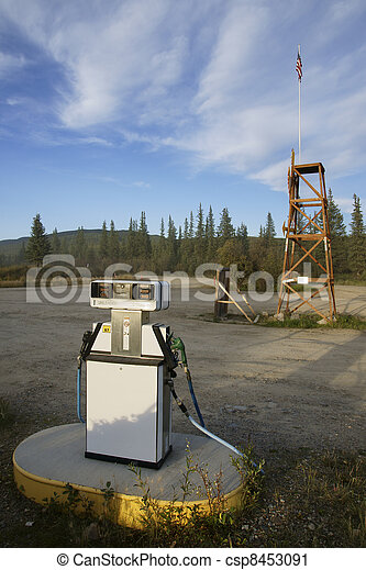Filling station - csp8453091