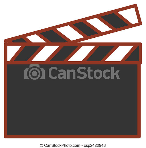 illustration drawing of black film action clapboard stock rh canstockphoto com clapboard clipart clapboard clipart free