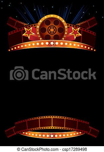 film, affiche - csp17289498