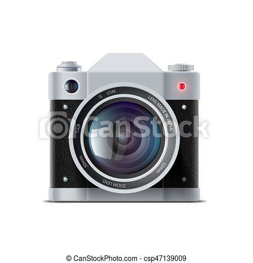 film appareil-photo, icône - csp47139009