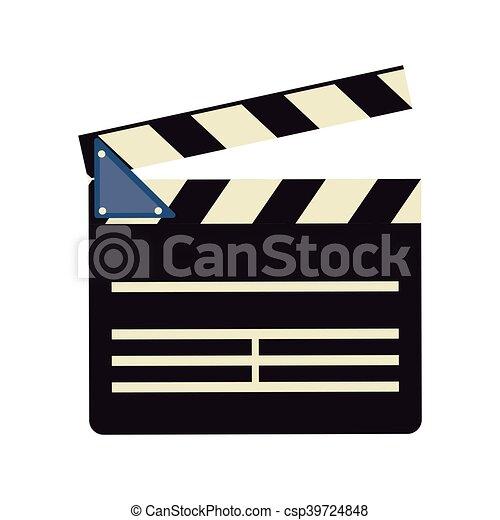 film, bardeau, conception, cinéma - csp39724848