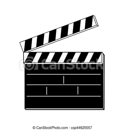 film clapper board - csp44625557