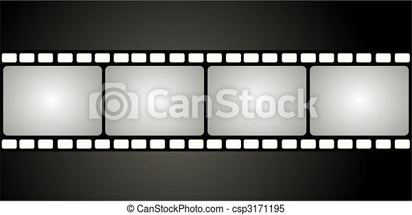 Film frame - csp3171195