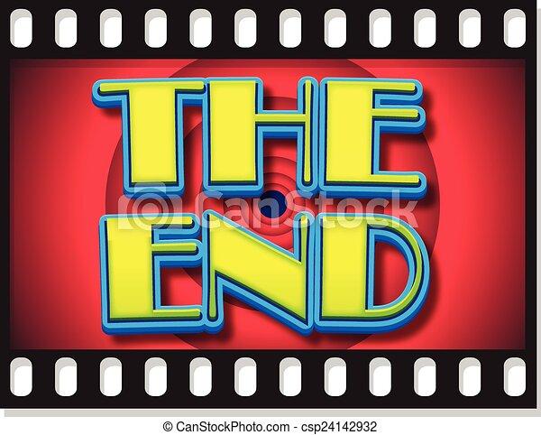 FILM FRAME END - csp24142932