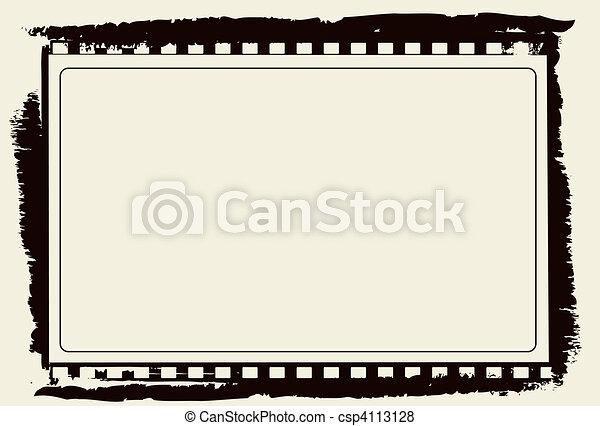 Film frame - csp4113128