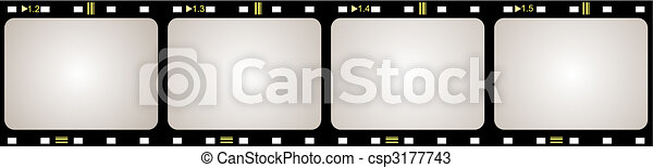 Film frame - csp3177743