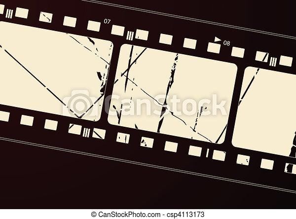 Film frame - csp4113173