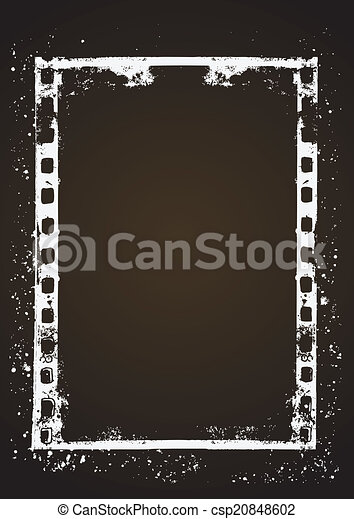 Film frame - csp20848602