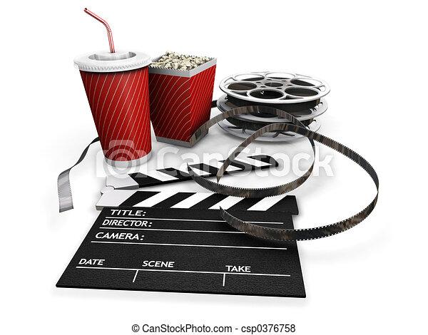 film, nuit - csp0376758