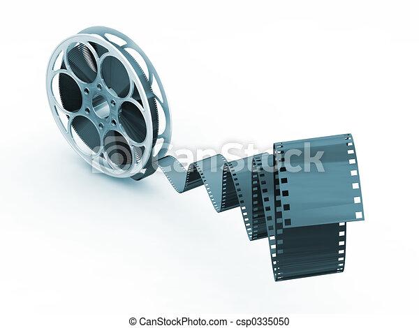 Film reel - csp0335050