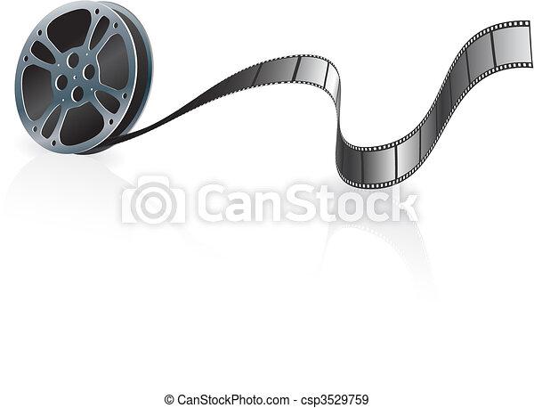 Film Reel - csp3529759