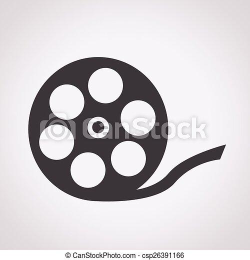 Film Reel Icon - csp26391166