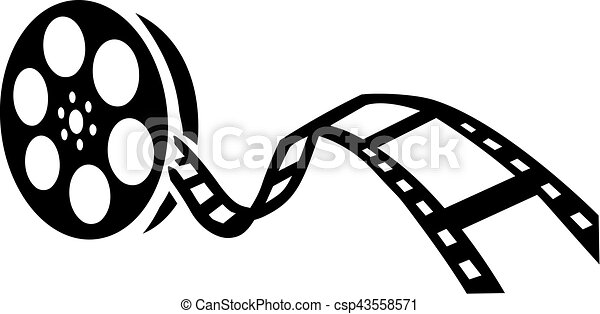 Film reel movie - csp43558571