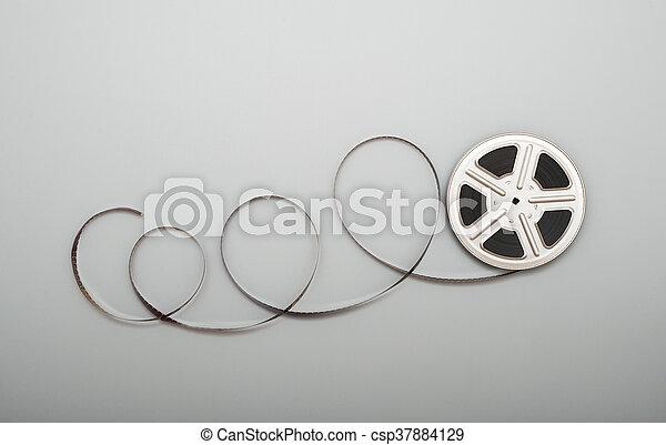 Film reel - csp37884129