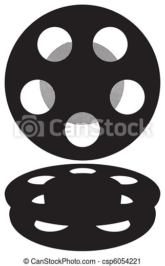 Film Reel  - csp6054221