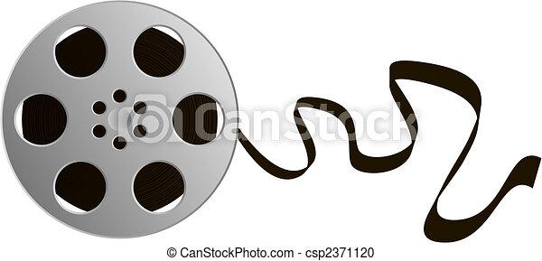 Film Reel - csp2371120